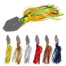10cm11g Chatter Aas Spinner Aas Weedless Vissen Lokken Buzzbait Wobbler Chatterbait Voor Bass Pike Walleye Vis