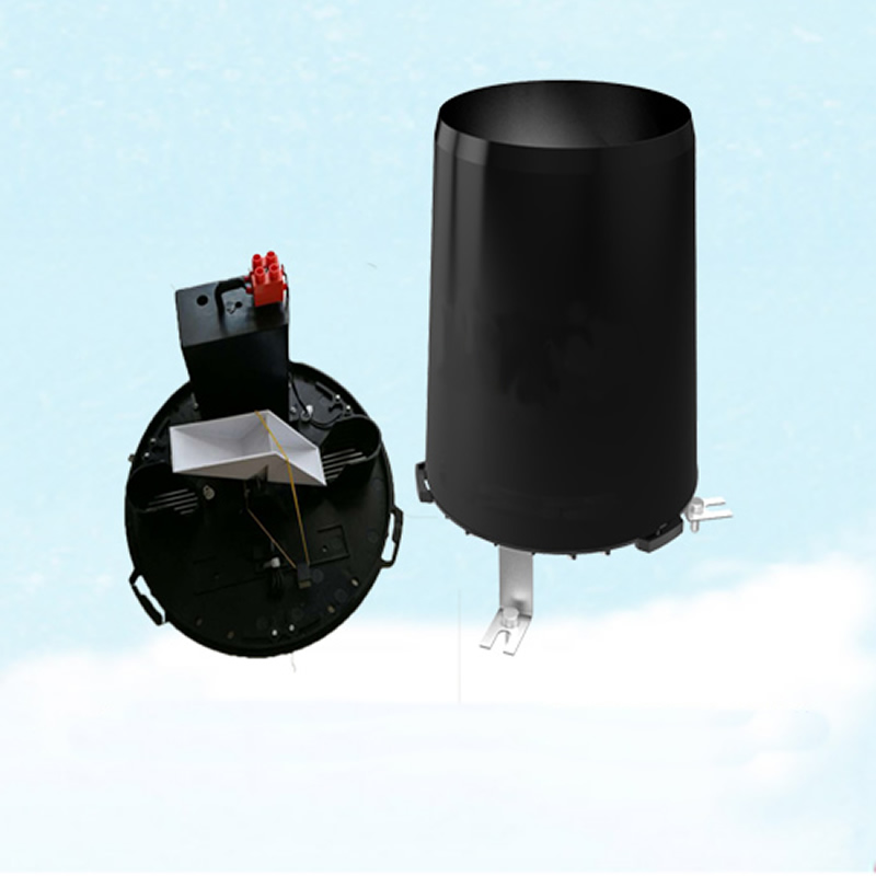 Tipper type rain sensor ABS/stainless steel metal material optional pulse switch quantity and 485 output type Rain gauge-in Integrated Circuits from Electronic Components & Supplies