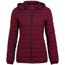 Parkas Coat Pocket Oversize Female Pink Thick Winter Women Loose Warm Solid Zipper ASF67