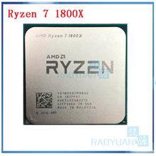 CPU Processor 1800x3.6 Amd Ryzen AM4 R7 Ghz Yd180xbcm88ae-Socket L3--16m Eight-Core 95W