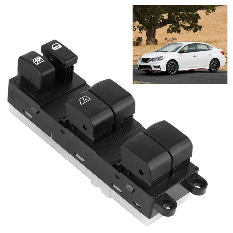 Front Side Master Power Window Switch For Nissan Sentra 2007-2012 25401-ET000
