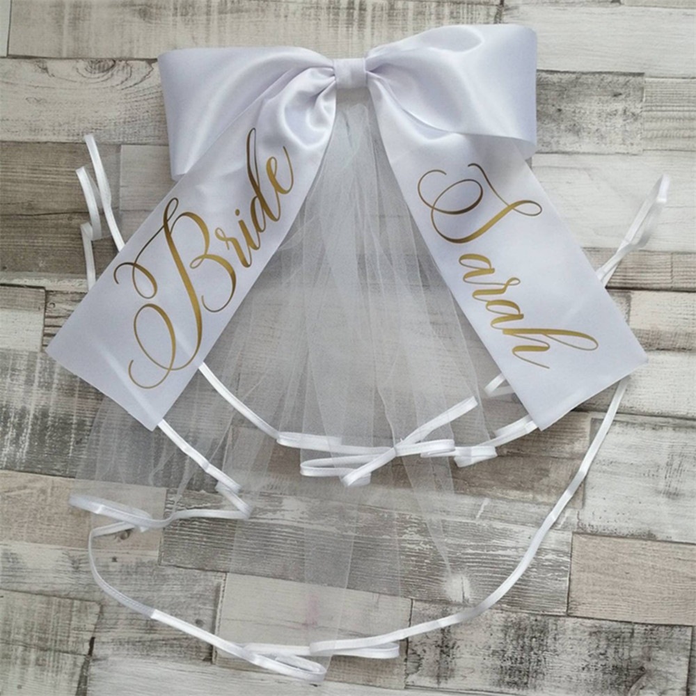 Personalize Glitter Booty Veil / Bikini Veil,Bustle Bride To Be,  Bachelorette Hen Do Bridal Shower Party  Bridal Booty Veils