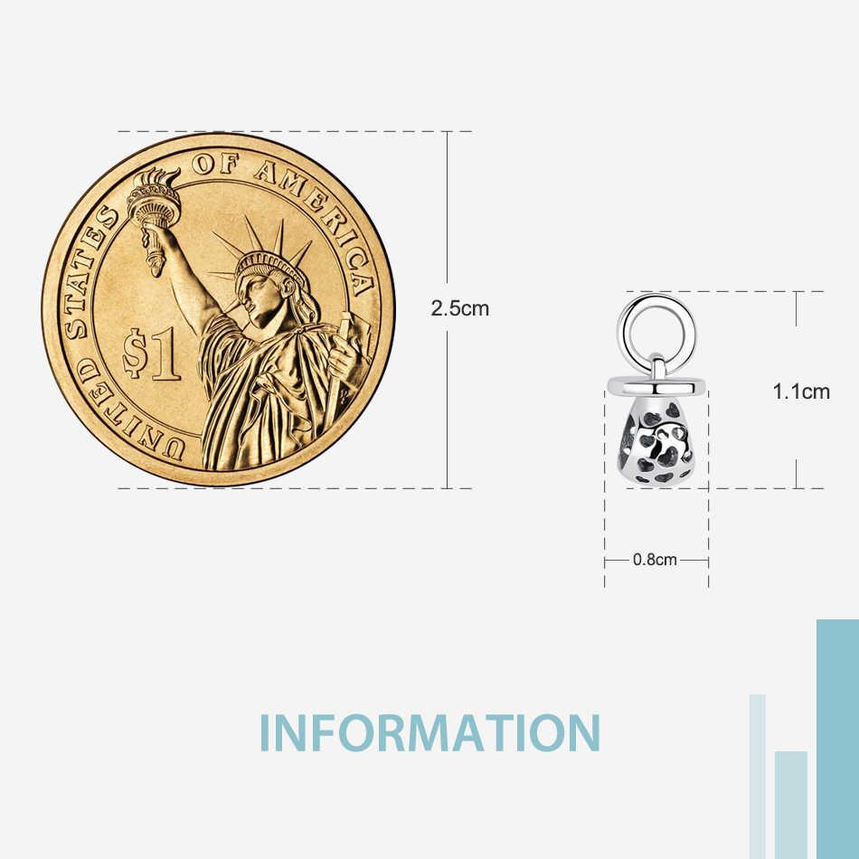 ขายส่ง 925 เงินสเตอร์ลิงน่ารักทารก Hollow Heart Charm Fit Pandora Charm สร้อยข้อมือ DIY เครื่องประดับของขวัญ Dropshipping