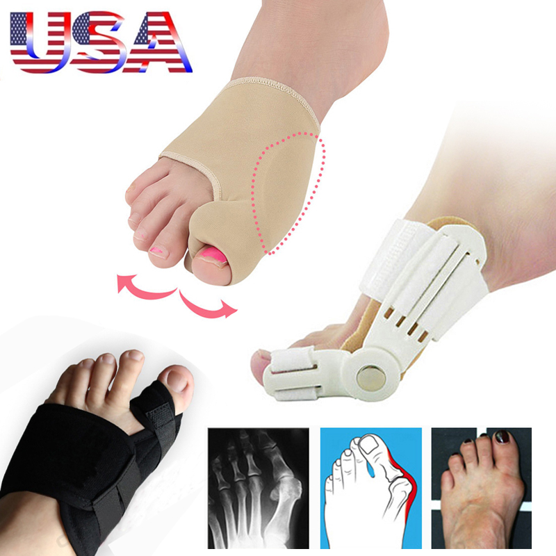 3Pair/Set Bunion Corrector Orthopedic Foot Straightener Toe Separators Hallux Valgus Splint Correction Pedicure Feet Care Tools