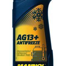 Mannol Антифриз Advanced AG13+ Концентрат охлаждающей жидкости(Long-life) желтый 1 л