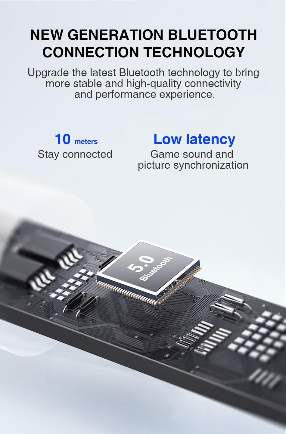 Lenovo LP40 TWS Wireless Bluetooth Earbuds 9