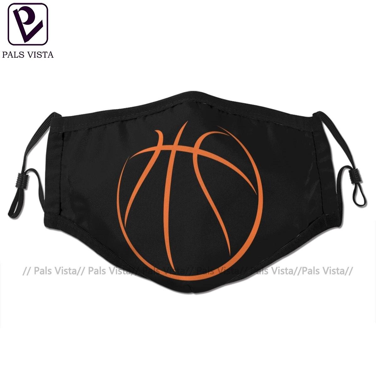 Баскетбольная маска для лица, баскетбольная маска для лица, модная смешная маска с 2 фильтрами для взрослых