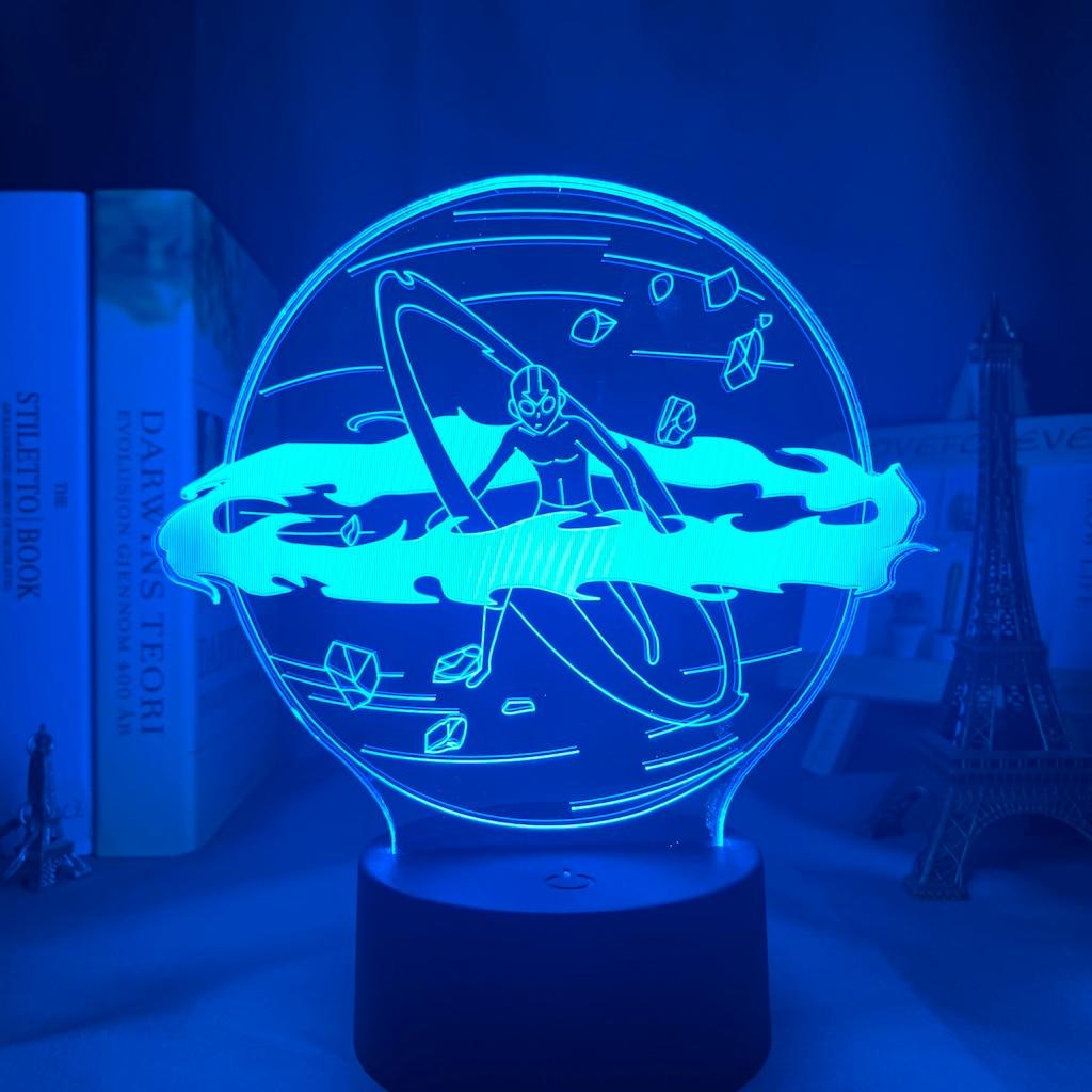 Аватар, Последний Воздушный Бандер Aang, лампа для домашнего декора, подарок на день рождения, светодиодный ночник, Аватар, светильник льник д...