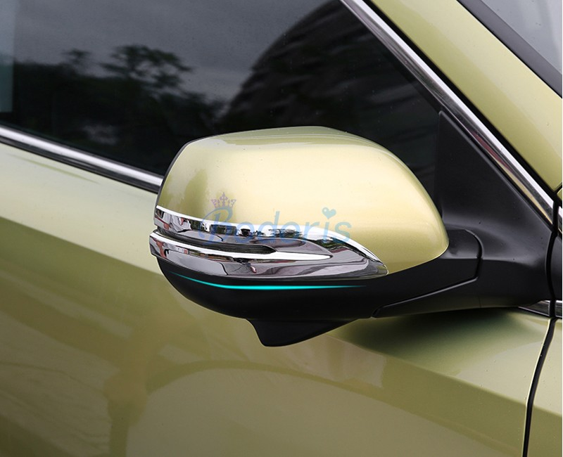 For Honda <font><b>CRV</b></font> CR-V CR V 2012-2016 2017 <font><b>2018</b></font> 2019 Side Wing Mirror Trim Rear View Overlay Frame Chrome Car Styling <font><b>Accessories</b></font> image
