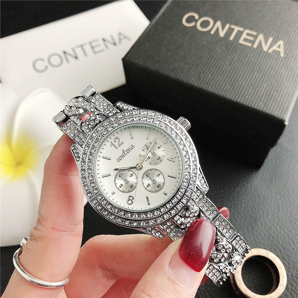 6670MA     New Diamond Dial Dial Simple Ladies Men's Watch Factory Direct Sales