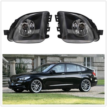 For BMW 5 Series F07 GT 2010 2011 2012 2013 2014 2015 2016 2017 Front Halogen Fog Lamp Fog Light With Bulbs