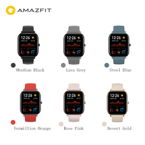 Image 2 - Amazfit GTS Smart Watch 5ATM Water Resistantce and Professional Swim Tracking Sport Watch All day heart rate 14days Battery life