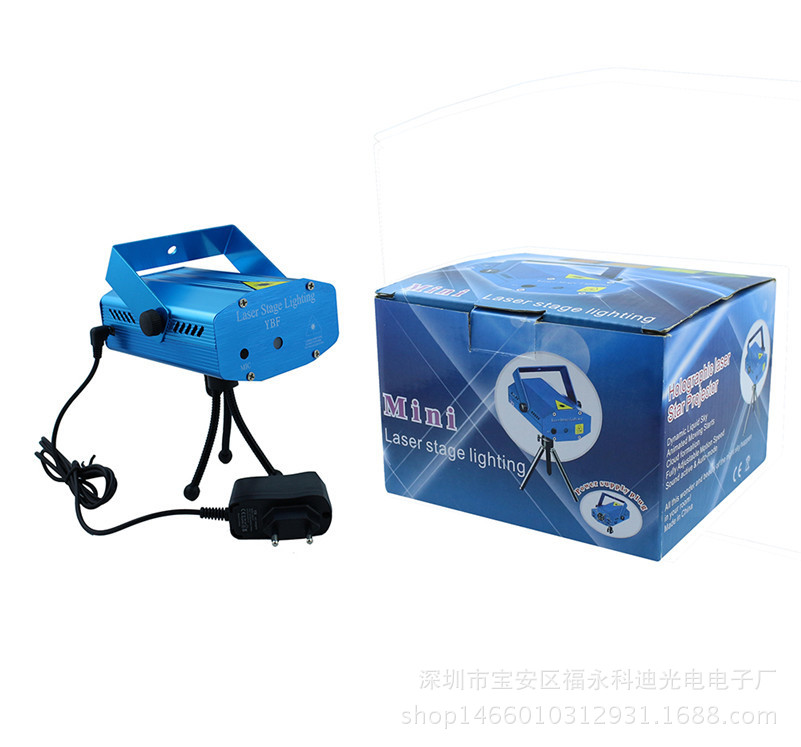 Manufacturers Direct Selling KTV Laser Light Voice Mini 6-in-One Laser Light Stars Lighting