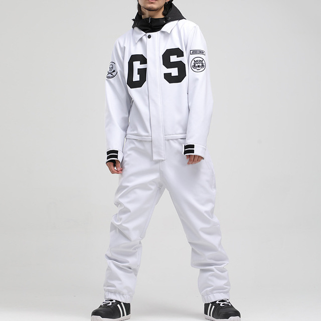-30 Jumpsuit Men's and Women's Snow Suit Wear Outdoor Sports Ski Costumes 15K Waterproof Snowboard Clothing Jacket Winter Coats 4
