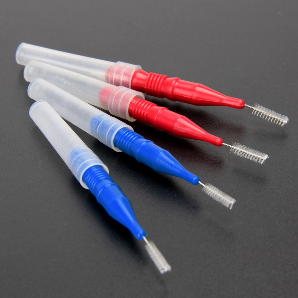 Soft Interdental Brush Oral Hygiene Tooth Flossing Tooth Pick Interdental Cleaners Dental Brush Tooth Cleaning Tool