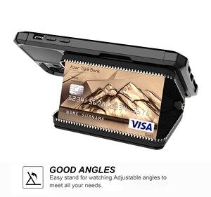 Image 3 - Luksusowe etui z portfela ze skóry PU dla iPhone 12 11 Pro Max/iPhone 12 mini etui z klapką do portfela dla iPhone 12 Pro Max Fundas