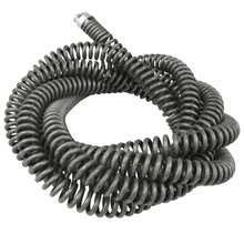 Cleaner Drain Snake-Extension Spring Steel Spring-With-Connector Long Auger Sewer Flexible