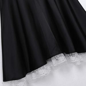 Image 5 - طقم ملابس داخلية مثيرة للرجال من iiniim ملابس داخلية مثيرة للبنات ملابس تنكرية للحفلات فستان برقبة على شكل دمية من الساتان مع رباط رأس ومئزر