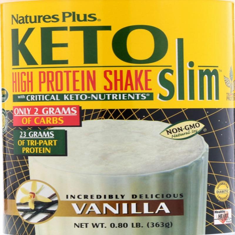 Keto slim high protein shake, vanilla flavor, 0.80 lb (363 g)
