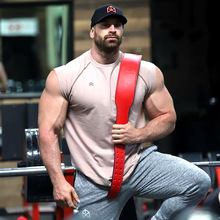Fashion New Men 100% Cotton Sleeveless Tank Top Bodybuilding Workout Singlet Men Tops