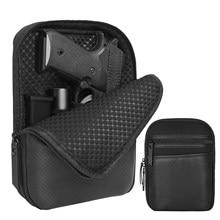 Faja para Arma Oculta táctica, funda para pistola, riñonera, bolsillo para la cintura, funda protectora para pistola con bucle para cinturón
