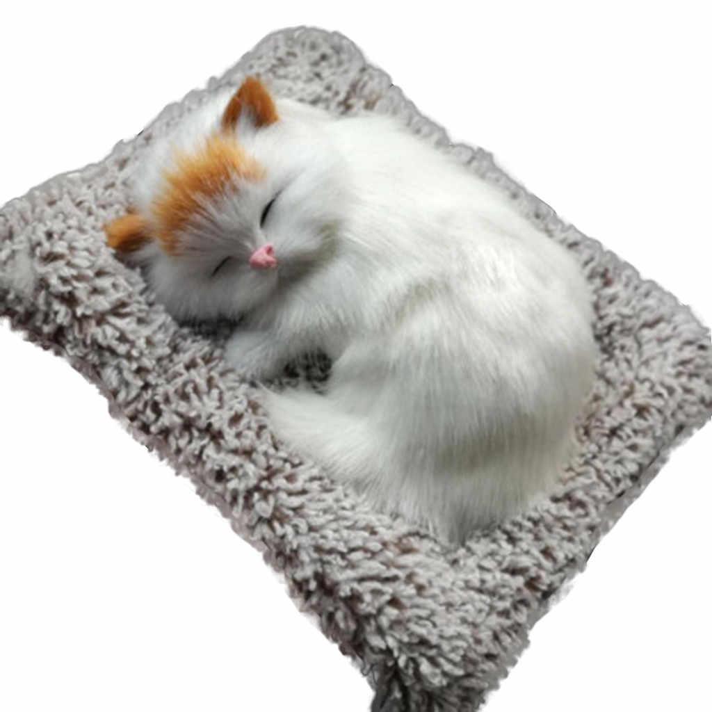 1:12 دمية أثاث مصغر المنزل مصغرة أفخم القط لعبة مجسمة مسرحية سيارة المنشط الفحم رائحة الهواء تنقية دمية الساخن