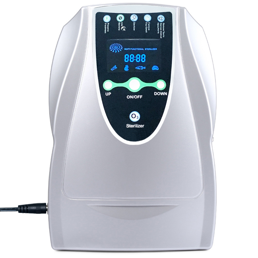 DC 12V Ozone Generator Ozonator Ionizer O3 Timer Air Purifiers Oil Vegetable Meat Fresh Purify Air Water EU US PLUG