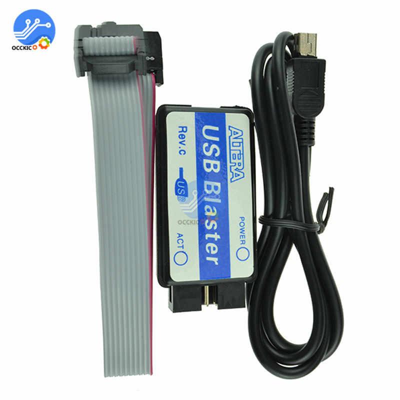 Mini USB Blaster Người Tải Cáp Cho Altera Cpld FPGA Nios JTAG Lập Trình Viên Bộ Cho Arduino