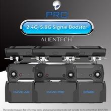 ALIENTECH 3 פרו 2.4/5.8G אנטנת אות Booster טווח Extender עבור DJI Mavic 2/Pro/אוויר /מיני פנטום 4 פרו V2.0 לעורר 2 Drone