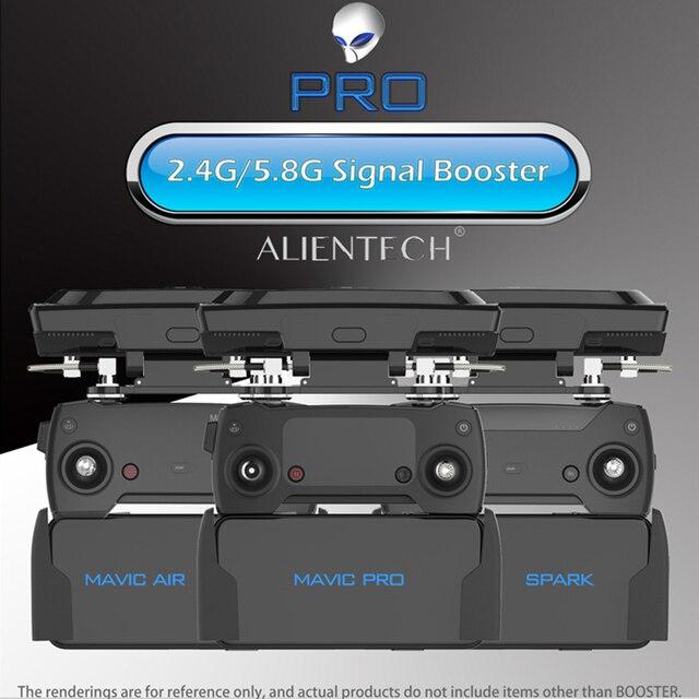 ALIENTECH 3 Pro 2,4/5,8G Antenne Signal Booster Range Extender für DJI Mavic 2/Pro/Air /Mini Phantom 4 Pro V2.0 Inspire 2 Drone