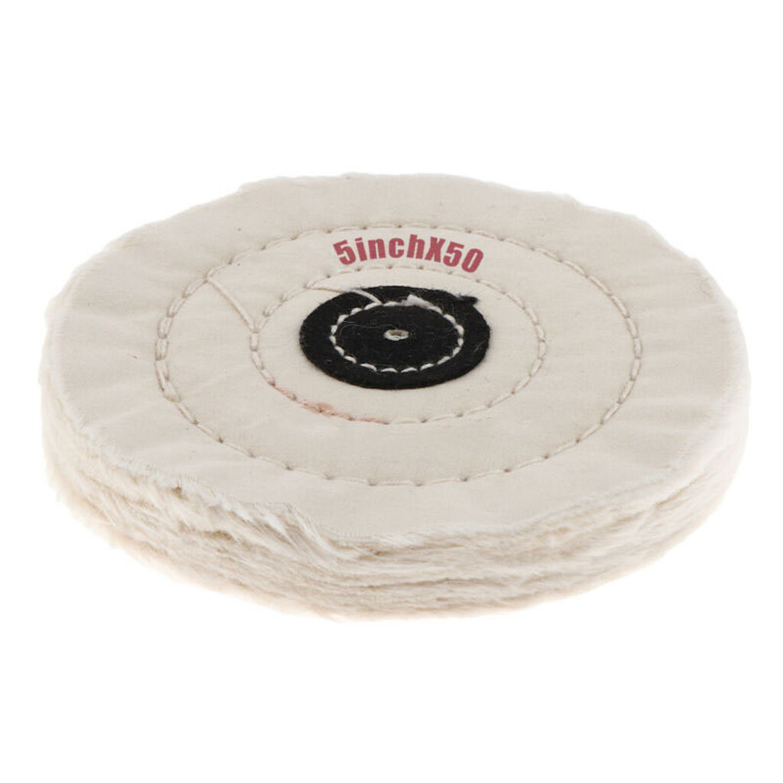 5inch 50 Layer Cotton Cloth Buffing Wheel Pad Polishing Jewelry Accessories For Polishing Metal,brass, Aluminum Bronze