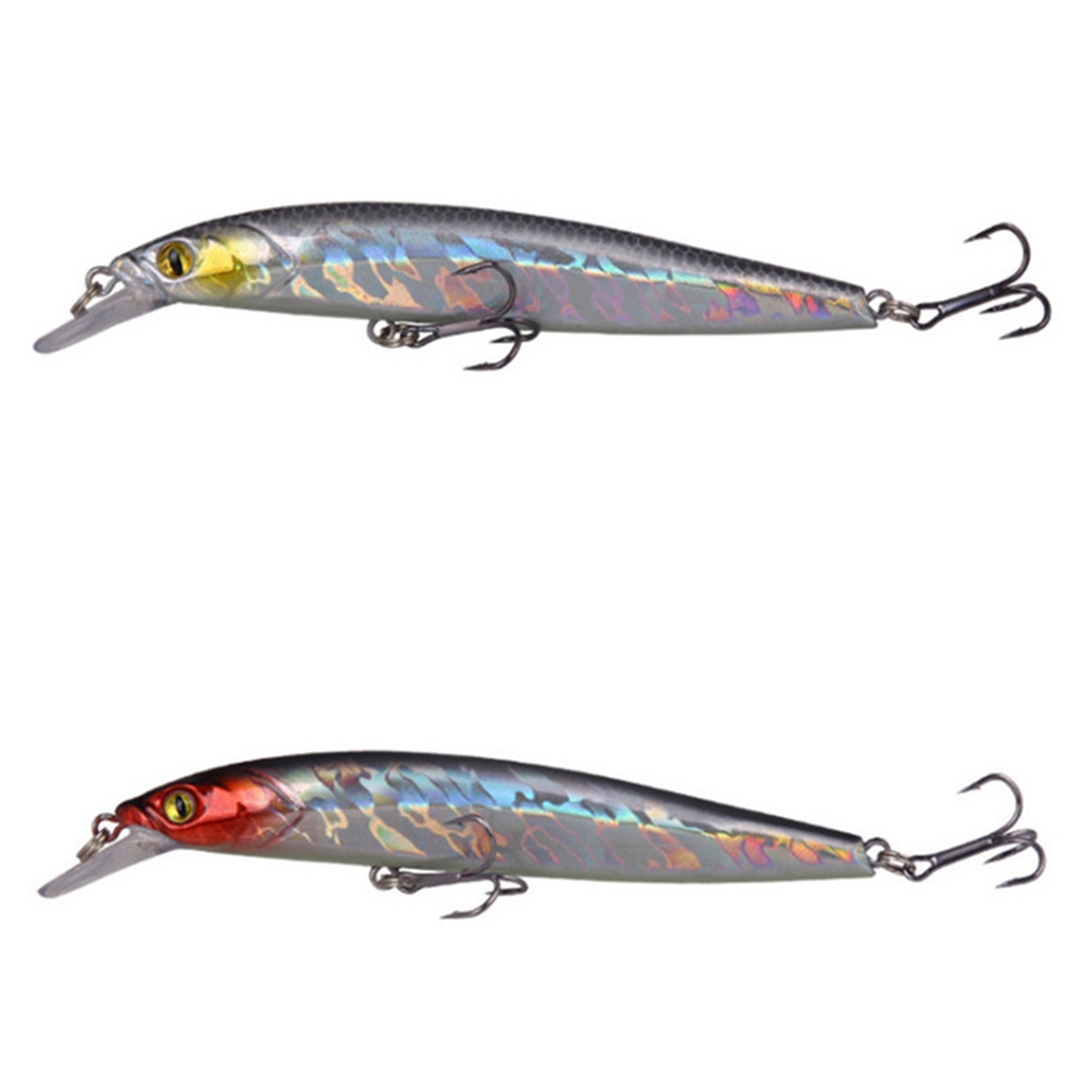 1pcs 120mm 11.8g Good Quality Minnow Fishing lures Floating Hard Bait 3D Eyes Fishing Wobbler Crankbait Minnow Pesca Tackle|Fishing Lures| - AliExpress