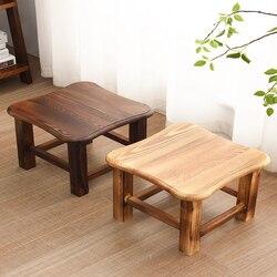 خشب متين مقعد المنزل الكبار غرفة المعيشة الإبداعية مقعد خشبي تغيير الأحذية مقعد طاولة القهوة البراز الأطفال مقعد صغير