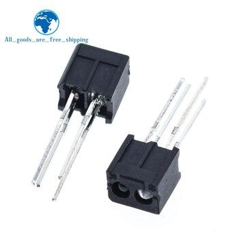 10 sztuk RPR220 optoelektroniczny przełącznik odblaskowy optyczny czujnik sprzęgła
