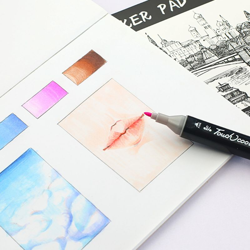 A3/A4/B5 Drawing Paper Pad Notebook Sketch Book For Marker Art Paiting Diary Student Gifts 30 Sheets 19QA