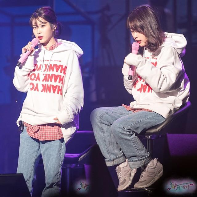 IU Hoodies Sweatshirt KPOP IU Cap Hoodie Lee Ji Eun Pullover and 50 similar items Thanks Hoodie from K-STAR Unisex Cap Hoodie 3