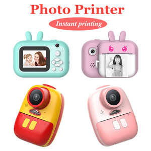 Children Camera Instant Print Camera Photo Printer For Kids 1080P HD Camera Printer With Thermal Photo Paper Camera For Gifts