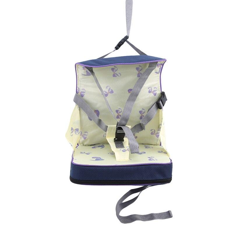 Практичная сумка для детского стула, портативное сиденье для малышей из водонепроницаемой ткани Оксфорд, детский дорожный складной ремень для кормления, высокий стул 4