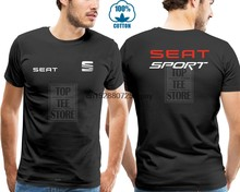 New Limited Racer T Shirt Seat Logo All Size Fashion Tshirt Hipster Cool Tops(China)