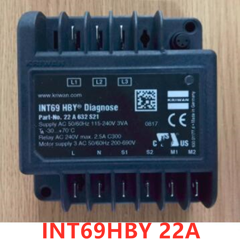 INT69HBY 22A Hanbell compressor distributor dedicated compressor protection