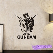 GUNDAM Wall Decal Vinyl Wall Stickers Decal Decor Home Decorative Decoration Anime Zeta Gundam Car Sticker car sticker japanese cartoon fans seed gundam raiser vinyl wall stickers decal decor home decoration