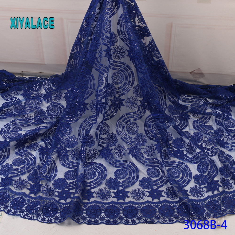African Lace Fabric Elegant Pure White Sequins Evening Dresses Female Tassels Bridal Bridesmaid Party For Wedding Dress YA3068B4