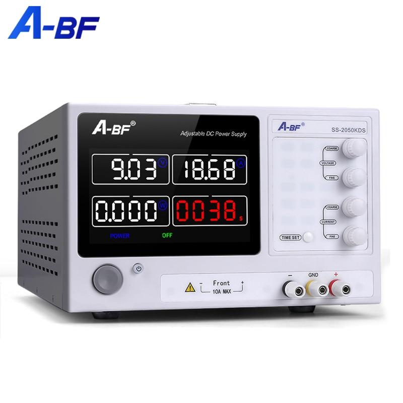 A-BF переключение лаборатории Питание блок Цвет Экран регулируемый источник стабилизированного источника высокой точности 4 цифры по ценам ...