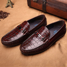 Loafers Shoes For Men High Quality Slip-On Mens Driving Shoes Handmade Genuine Cow Leather
