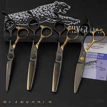 HoT 6.0 Inch Professional Hair Scissors Hairdressing Scissors Cutting Thinning Scissor Styling Tool Barber Shear Hairdresser