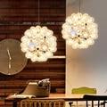 Taraxacum bolle Lampade a sospensione Glass Mirror Ball Lampada A Sospensione Cucina Moderna Apparecchi di Illuminazione lampada a Sospensione bar sala da pranzo