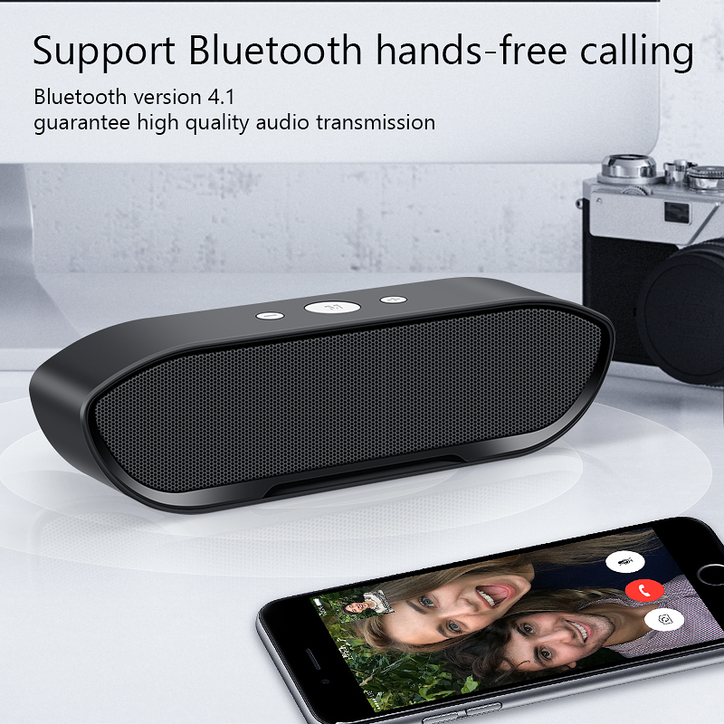 Portable Wireless Bluetooth Speaker Stereo big power MP3 Music MIC Subwoofer Speakers for iPhone Computer Bass Speaker Altavoz 3
