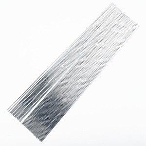 50 Uds., electrodos de soldadura de aluminio, núcleo de fundente Tig o Mig, alambre de soldadura con soldadura de aire, soldadura con soldadura, reparación de varillas de soldadura