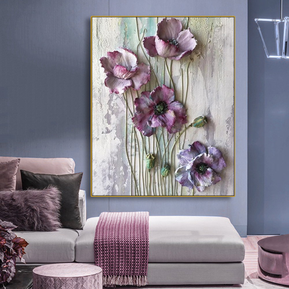 Flowers Plants Wall Art Picture Poster Print Canvas Painting & Calligraphy Decor Bedroom Living Room Home Decor No Frame