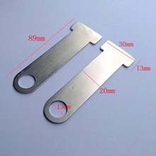 2pcs Open Face Helmet Lock Quick Release Buckle Fastener for Motorcycle Cruiser Silver quick lock open tool silver 2 pcs